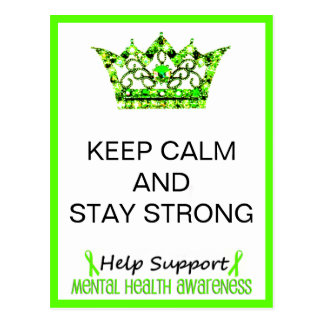 KEEP CALM AND STAY STRONG Postcards