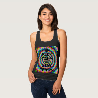 Keep Calm and Stay Trippy Tank Top