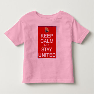 Keep Calm and Stay United Womens Rights Toddler T-shirt