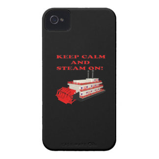 Keep Calm And Steam On 2 iPhone 4 Case-Mate Case