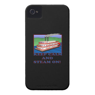 Keep Calm And Steam On iPhone 4 Case-Mate Cases