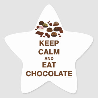 Keep Calm and Star Sticker