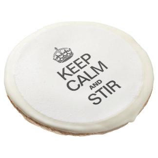 KEEP CALM AND STIR SUGAR COOKIE