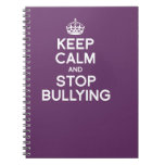 KEEP CALM AND STOP BULLYING JOURNAL