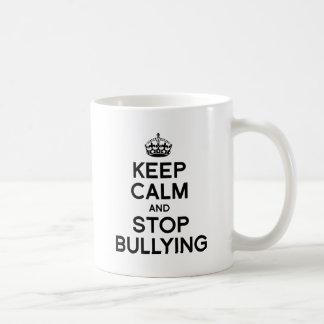 KEEP CALM AND STOP BULLYING COFFEE MUG