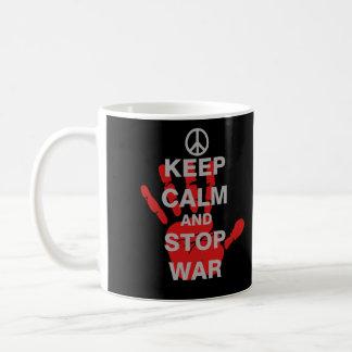 Keep Calm and Stop War Coffee Mug