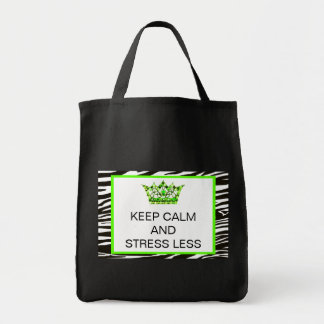 KEEP CALM AND STRESS LESS Bags