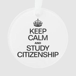KEEP CALM AND STUDY CITIZENSHIP