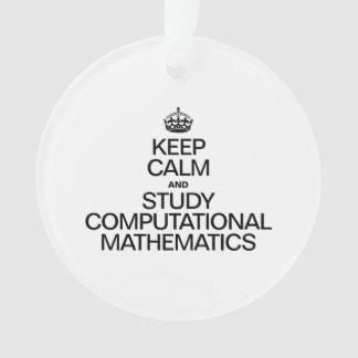 KEEP CALM AND STUDY COMPUTATIONAL MATHEMATICS