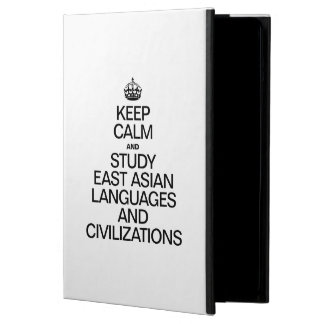 KEEP CALM AND STUDY EAST ASIAN LANGUAGES iPad AIR COVER
