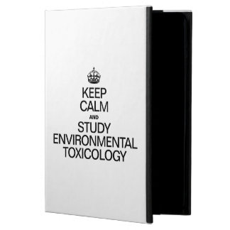 KEEP CALM AND STUDY ENVIRONMENTAL TOXICOLOGY CASE FOR iPad AIR