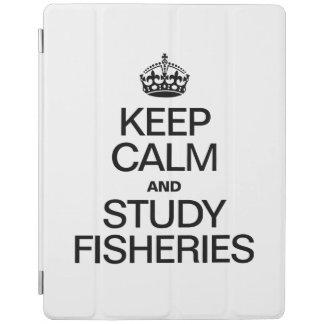 KEEP CALM AND STUDY FISHERIES iPad COVER