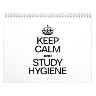 KEEP CALM AND STUDY HYDIENE WALL CALENDARS