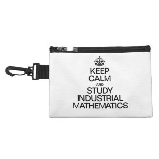 KEEP CALM AND STUDY INDUSTRIAL MATHEMATICS ACCESSORIES BAGS