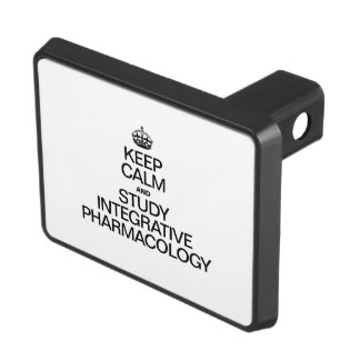 KEEP CALM AND STUDY INTEGRATIVE PHARMACOLOGY TRAILER HITCH COVER