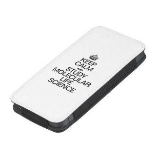 KEEP CALM AND STUDY MOLECULAR LIFE SCIENCE iPhone 5 POUCH
