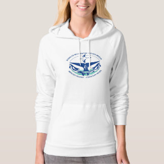 Keep calm and study whales hoodie