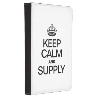 KEEP CALM AND SUPPLY KINDLE 4 COVER