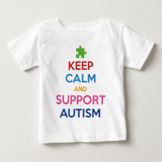 Keep Calm And Support Autism Tee Shirt