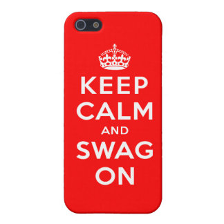 Keep Calm and Swag On Case For iPhone SE/5/5s