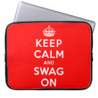 Keep Calm and Swag On Computer Sleeve