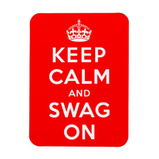 Keep Calm and Swag On Rectangular Magnet