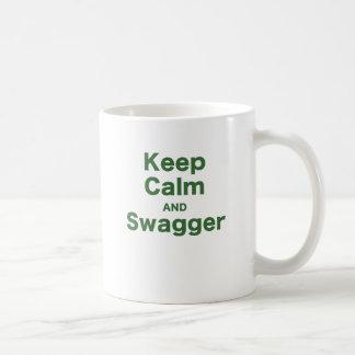 Keep Calm and Swagger Mug