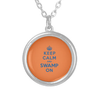 Keep Calm and Swamp On Pendants