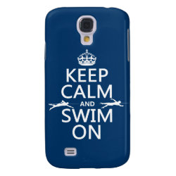 Case-Mate Barely There Samsung Galaxy S4 Case with Keep Calm and Swim On design