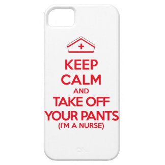 Keep Calm and Take Off Your Pants iPhone SE/5/5s Case