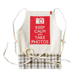 LIFE Line Apron with Keep Calm and Take Photos design