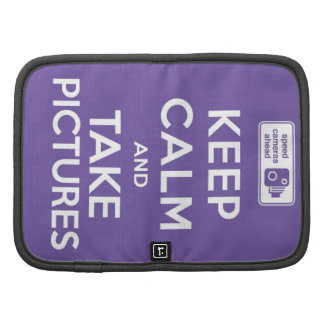 Keep Calm And Take Pictures Planners