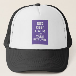 Keep Calm And Take Pictures Trucker Hat
