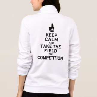 Keep Calm and Take the Field for Competition Tee Shirt