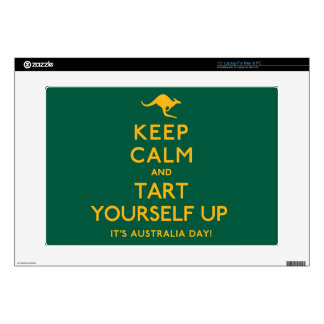 "Keep Calm and Tart Yourself Up! 15"" Laptop Decals"