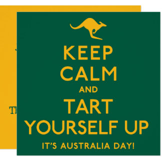 Keep Calm and Tart Yourself Up! Card