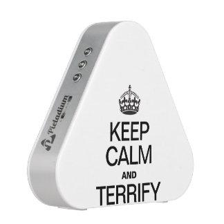 KEEP CALM AND TERRIFY SPEAKER