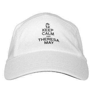 Keep Calm and Theresa May - -  Hat