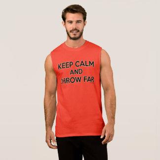Keep Calm and Throw Far, Discus Shirt