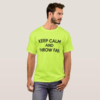 Keep Calm and Throw Far, Shot Put Shirt