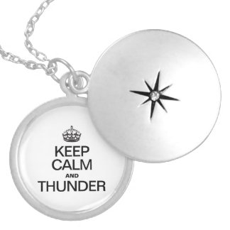 KEEP CALM AND THUNDER NECKLACES