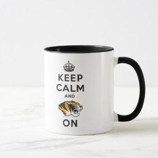 Keep Calm and Tiger on Mug