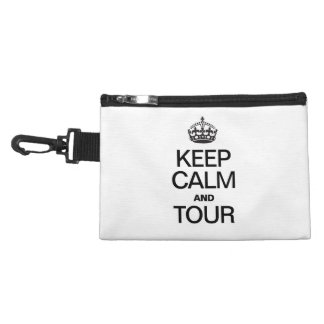 KEEP CALM AND TOUR ACCESSORIES BAGS