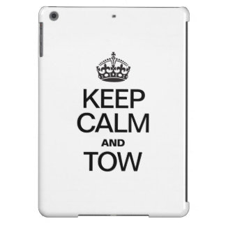 KEEP CALM AND TOW iPad AIR CASES