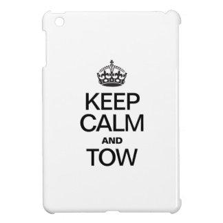KEEP CALM AND TOW iPad MINI COVERS