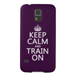 Case-Mate Barely There Samsung Galaxy S5 Case with Keep Calm and Train On design