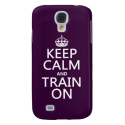 Case-Mate Barely There Samsung Galaxy S4 Case with Keep Calm and Train On design