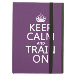 iPad Air Powis Case with Keep Calm and Train On design