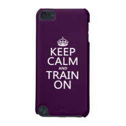 Case-Mate Barely There 5th Generation iPod Touch Case with Keep Calm and Train On design
