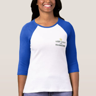 Keep Calm and Transcribe T-Shirt